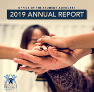 Office of the Student Advocate Annual Report 2019